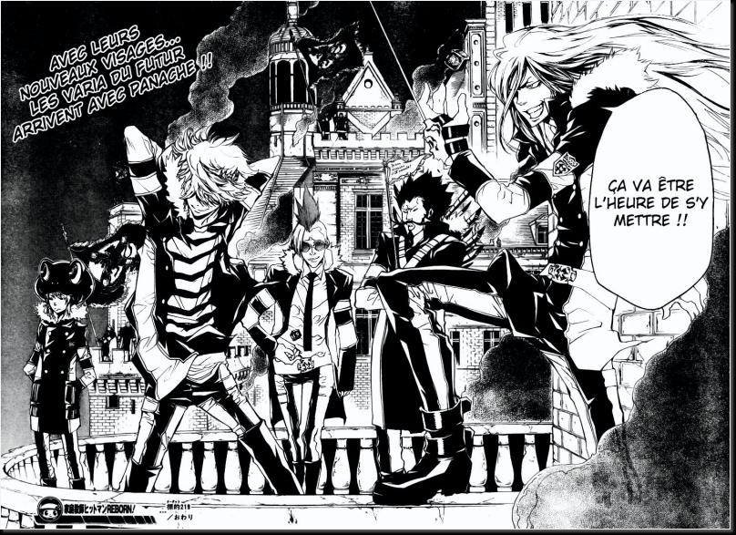 Réactions sur le manga (attention spoil sur les derniers sca 16-17